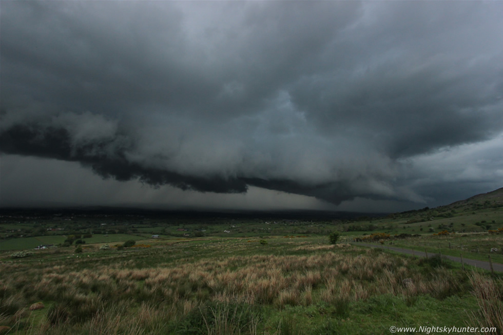 Stunning Dungiven Thunderstorm & Funnel Cloud Report