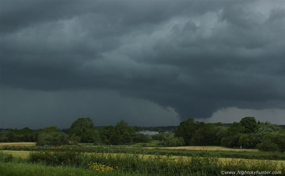 Co. Fermanagh Storms & Wall Cloud