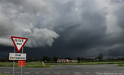 Local Storm Chases & Maghera Funnel Cloud - May 13th 2014