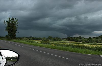 Co. Fermanagh Storms & Wall Cloud - June 9th 2014