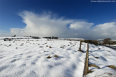 Co. Tyrone Snow Squalls & Severe Wind Chill - January 31st 2015
