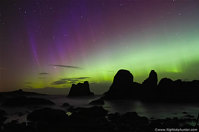 Elephant Rock Geomagnetic Storm - October 7th 2015