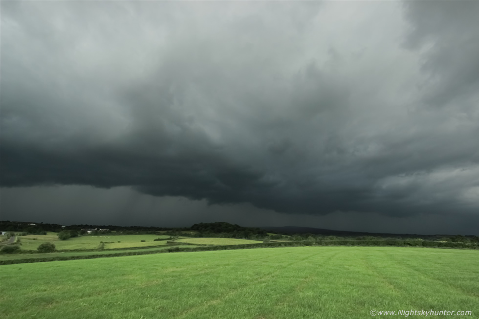 Awesom Storm Front That Darkened >> Glenshane Road Storm Structure June 23rd 2016